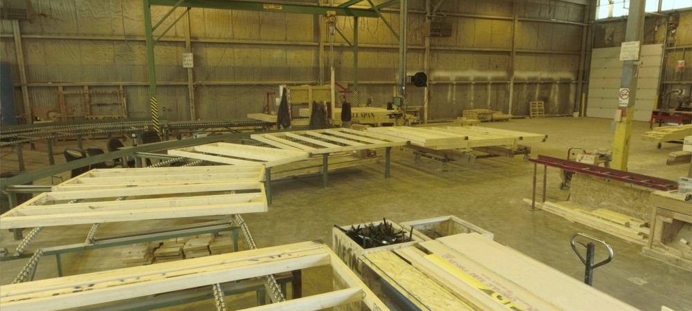 All Span Building Systems - Truss Manufacturing - Calgary Alberta - Gallery 11